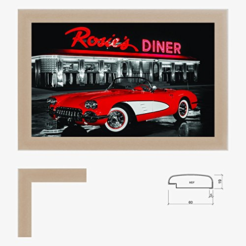 Wandbild Diner Red