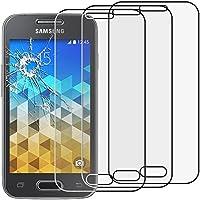 ebestStar - para Samsung Galaxy Trend 2 Lite SM-G318H, Galaxy V plus [: 121.4 x 62.9 x 10.7 mm, pantalla 4''] - Lote x3 Vidrio Templado - Cristal protector contra rotura y rayas