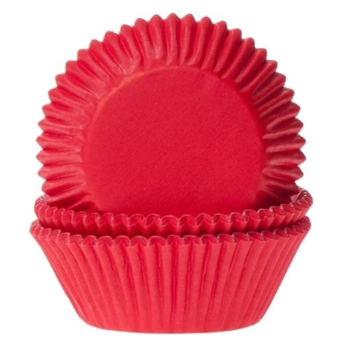 Cakes Supplies - Lot de 50 Caissettes Hom Red Velvet