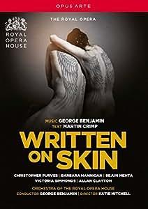 Benjamin: Written On Skin [Katie Mitchell, Martin Crimp, Christopher Purves, Barbara Hannigan] [DVD] [2013] [NTSC]