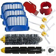 Kit di ricambi sostituzione per iRobot Roomba Serie 600 Kit di Pulizia con Spazzole e Filtri per 600 620 630 650 660 venduto da SchwabMarken
