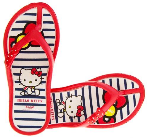Hello Kitty Ingiro Bambina Rosso Infradito Sandali Da Spiaggia EU 31