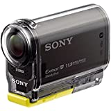 Sony HDR-AS30VB Bike Mount Kit  - Ultra-kompakte Action-Cam (Exmor R CMOS-Sensor, Full HD, PS/WIFI/NFC Function-Kit), schwarz