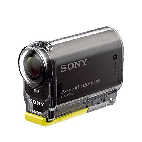 Sony HDR-AS30VW Wearable Mount Kit  - Ultra-kompakte Action-Cam (Exmor R CMOS-Sensor, Full HD, PS/WIFI/NFC Function Kit), - Sony Nfc Cam