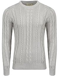 Mens Jumper Lambswool Blend Fashion Knitwear Sweater Barton Old Boys Network