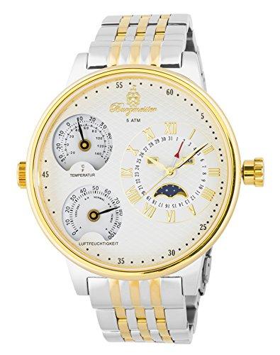 Burgmeister reloj de cuarzo de hombre XXL Montana, BM309-917