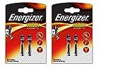 4 Energizer AAAA/E96/LR61 Batterie Alkaline, Lange Haltbarkeit (Prüfdatum)