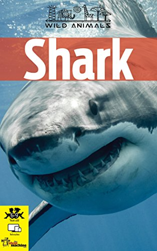8cc246c2 SHARK: Children's book with images and amazing facts about shark, a  powerful animal.