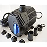 Filterpumpe bis 2300/h Energiespar Eco- Teichpumpe Pumpe Bachlaufpumpe Koiteich