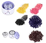 #10: SWEET PEA Hair Removal Hard Wax Beans (5 Packets of Weight 100g) with WAX HEATER MACHINE.