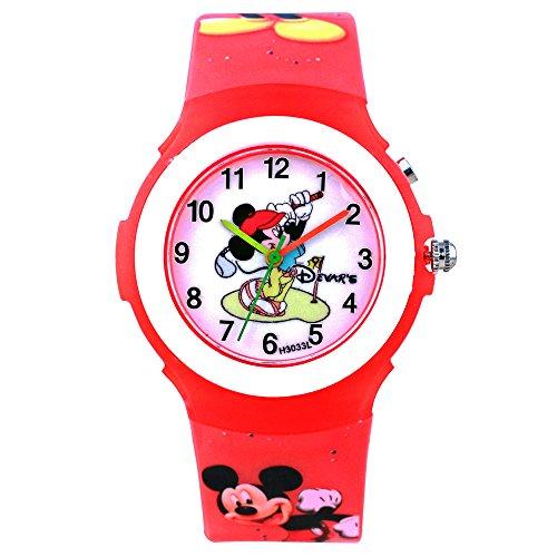 Devars H3033-RD-MICKEY  Analog Watch For Girls
