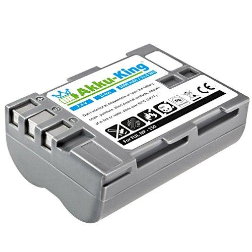 Akku-King Akku kompatibel zu Fujifilm FinePix IS Pro, S5 Pro - ersetzt NP-150, BC-150 - Li-Ion 1600 mAh