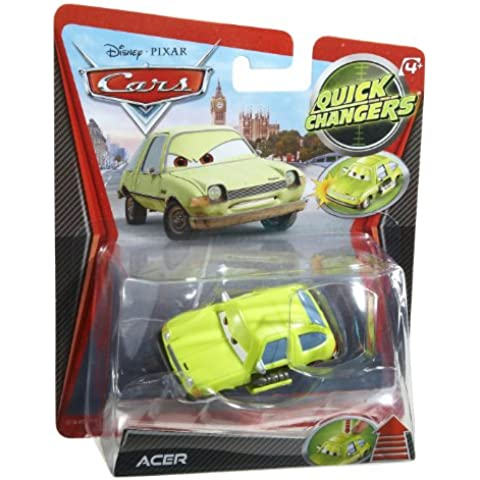 Mattel Disney Cars 2 Quick Changers - Acer (saca las armas. escala 1:55)