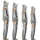 Tutoy Fitness Sauna Anzug Hoodie Übung Sporthalle Mit Kapuze Kleidung Gewicht Verlust Schlanke Trainingsanzug -Xl Silber