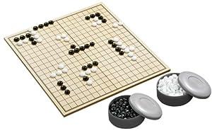 Philos 3210 Go & Go Bang-Turnier - Juego de Estrategia (Tablero de Madera Plegable, en alemán)