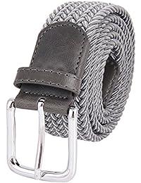 04128ee6ee Cinture Per Uomo Elastico Pantaloni Casual Pantaloni Cinture Fibbia  Multicolore Cinture Di Tessuto Uomo Desiderio Confezione