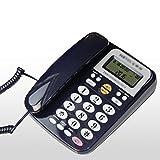 Freisprecheinrichtung Telefon Schnurgebundenes Telefon - Tisch- / Tischmontage Inklusive - Anruferanzeige - Blau