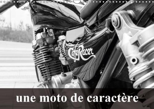 Une Moto De Caractere 2018: Transformation D'une Kawasaki 750 Zephir par Cyrielle Giot