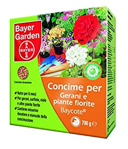 Bayer - Baycote Concime Gerani e Piante Fiorite