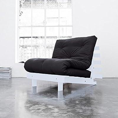Roots 90 cm, un sofá, una cama y una chaise longue
