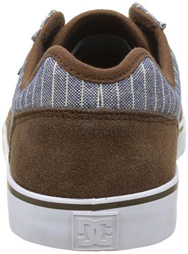 DC Shoes Tonik Se, Baskets Basses homme Bleu (Brown/Blue)