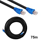 75m Outdoor Netzwerkkabel Lankabel Patchkabel CAT6 U/UTP