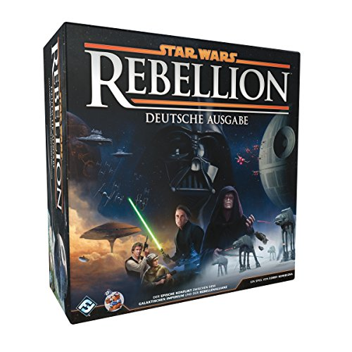 Asmodee HEI1500 Star Wars Rebellion, Spiel