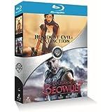 Resident Evil : Extinction + La légende de Beowulf (Director's cut) - Coffret 2 Blu-ray