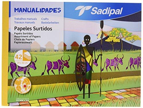 Sadipal - Bloc Varios Papel Manualidades