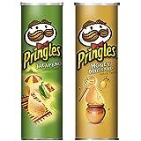 Pringles Spicy Duo - Jalapeno & Honey Mustard (2 x 158 g)