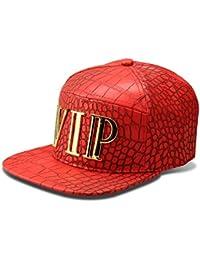 AlwaysBling® Hip Hop Style Alligator-Haut-Muster 3 Farben sowie VIP-Tag Logo Baseball-Mütze Cap