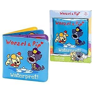 Rubo-Toys 0406054 Bath Book Juego, Juguete y Pegatina de baño - Juegos, Juguetes y Pegatinas de baño (Bath Book, Woezel & Pip, Niños, 0,5 año(s),, PVC)