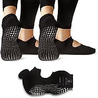 LA Active Grip Socks - Yoga Pilates Barre Ballet Antidérapant