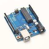 UNO R3 328 ATMEGA328P Expansionsboard Vorstand ATMega16U2 USB Board mit freiem USB-Kabel für Arduino