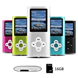 Btopllc MP3-Player, MP4-Player, digitale Musik-Player 16 GB interne...