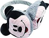 Wärmer, offiziell lizensierte ORIGINAL Mickey Mouse Ohrenschützer, Grau- Lizensierter Disney Fanartikel