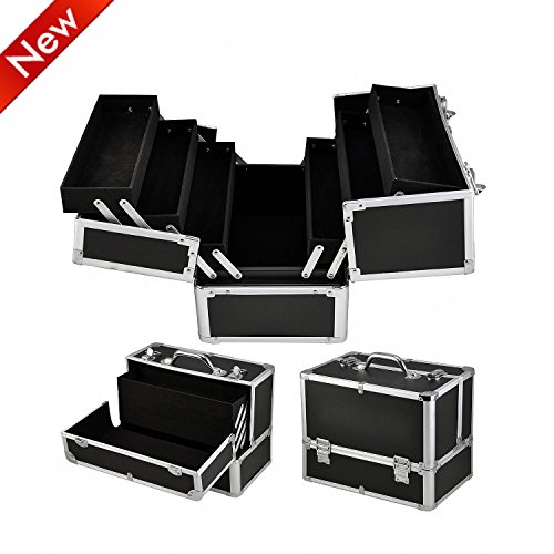 lyncol-large-space-storage-beauty-box-make-up-jewelry-cosmetic-vanity-case-cosmetic-box-black