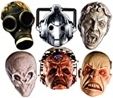 """Star Cutouts SMP70 """"Doctor Who Monster"""" Cardboard Mask (Pack of 6)"""