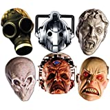 Doctor Who SMP70 Cyberman/Smiler/Davros/Weeping Angel/Empty Child/Silent Doctor Who Monster Halloween Masks Party Mask