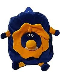 Pari Toys Blue Color School Bag For Kids, Travelling Bag, Picnic Bag, Carry Bag With Soft Material 15 Inch - B074CB7P3V