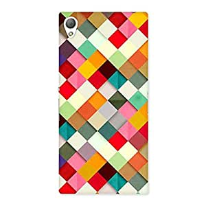 Stylish Color Ribbons Back Case Cover for Sony Xperia Z3
