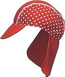 Produkt-Bild: Playshoes Mädchen Bademütze, Badekappe Punkte mit UV-Schutz