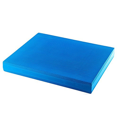 Pad Koordinationsmatte Reha Pilates Gleichgewichtstrainer, Farbe:blau ()