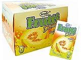 Frutti Instant Getränkepulver ohne Zucker - Geschmackrichtung: Honigmelone Melon 24er Packung