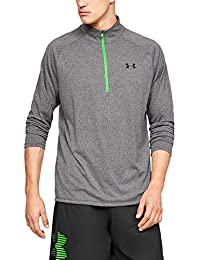 Under Armour Men's Tech 2.0 1/2 Versatile Warm, Light and Breathable Zip Up Top for Working Out