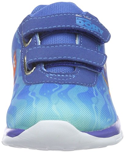 Findet Dory Boys Kids Athletic Sport, Baskets Basses Garçon Bleu - Blau (Wht/Ebl/Cbl 011)