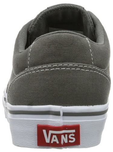 Vans W WINSTON  CHARCOAL GREY/W, Sneaker donna Grigio (charcoal grey/w CF8)