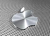Aluminium Effekt Apple Logo–Qualität Mauspad