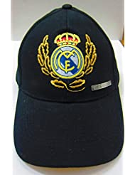 8436842822232 , Gorra REAL MADRID , JUNIOR modelo Laurel NEGRA