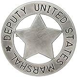 Sheriffstern US-Deputy Marshal Stern grau